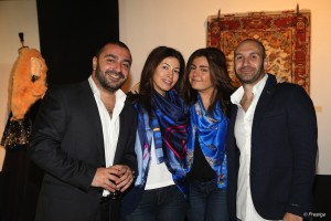 hovik and lucy bikarian with fady and carine mardini copy