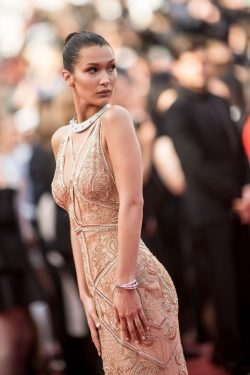Bella Hadid wearing de Grisogono jewelry
